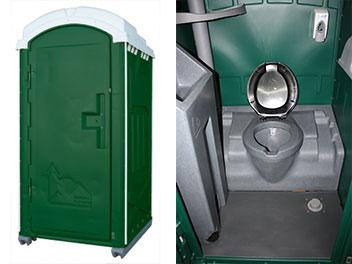 Deluxe Flush Portable Toilet