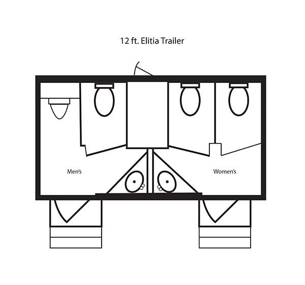 12 ft. Elitia Trailer