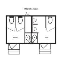 14 ft. Elitia Trailer