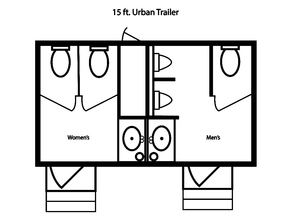15 ft  jag urban trailer
