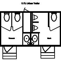 15 ft. JAG Urban Trailer
