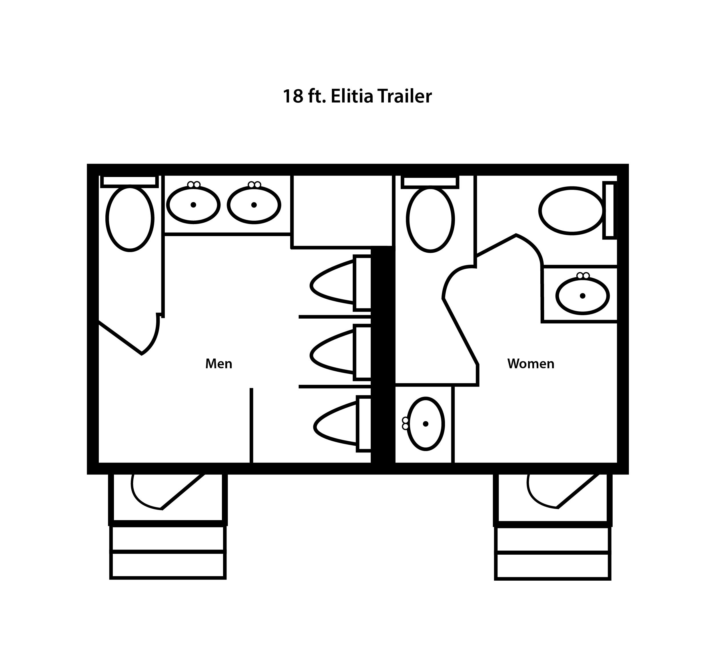 18 ft. Elitia Trailer